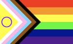 The Progress Pride Flag